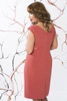 Платье Коралловый жемчуг-Муза