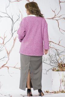 Полупальто Цветение сакуры-Муза