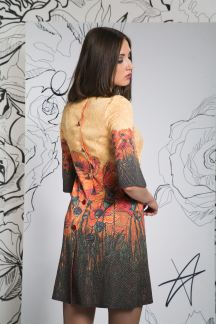 Платье Cолнечные маки