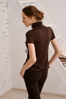 Блуза Кофейный плюш