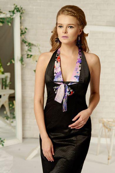 Платье Интригующ.черное