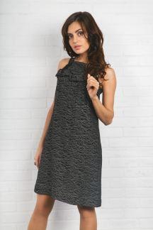 Платье Черный туман