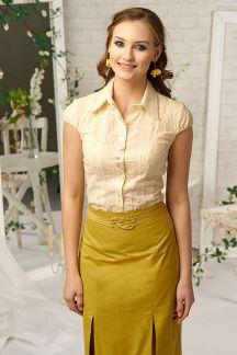 Блуза Нежное золото