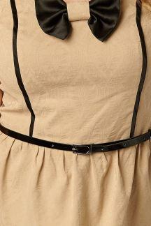 Платье Бежевый коктейль