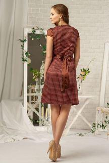 Платье Теплое карри