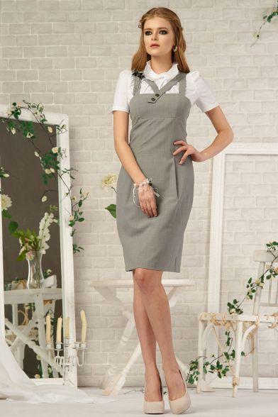 Платье Дымчатый кварц