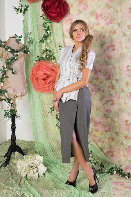 Блуза Леди Диор (струны)