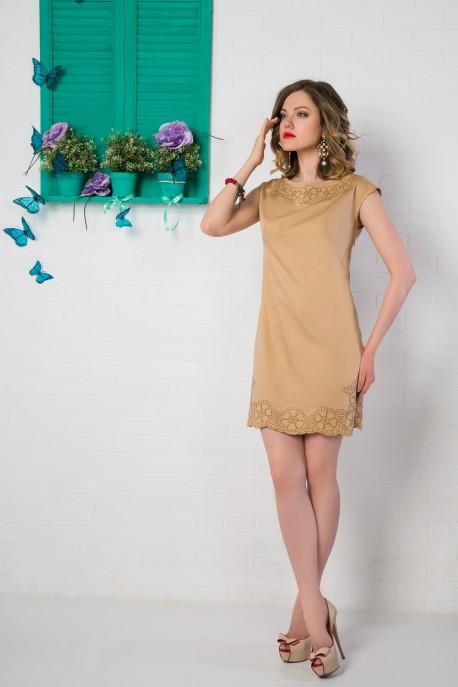 Платье Песчаные цветы