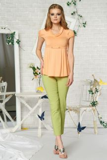 Блуза Персиковый аромат