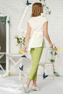 Блуза Молочная бабочка