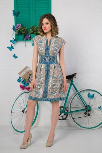 Платье Византийская лазурь