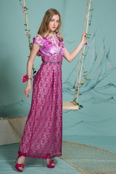 Платье Сияющая орхидея
