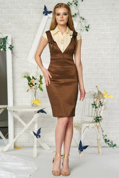 Платье Пряная корица