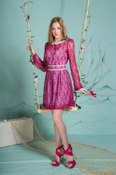 Платье Пленительная фуксия