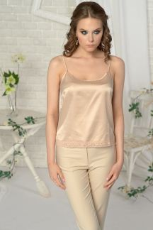 Блуза Крем-карамель