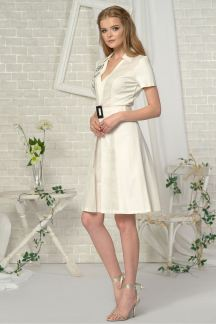 Платье Белоснежный мак