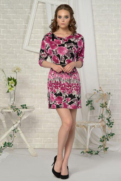 Платье Малиновый пион