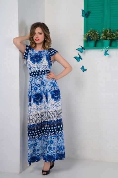 Платье Фиалковая роскошь