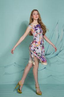 Платье Магический пион