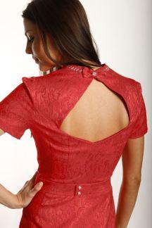 Платье Алая интрига